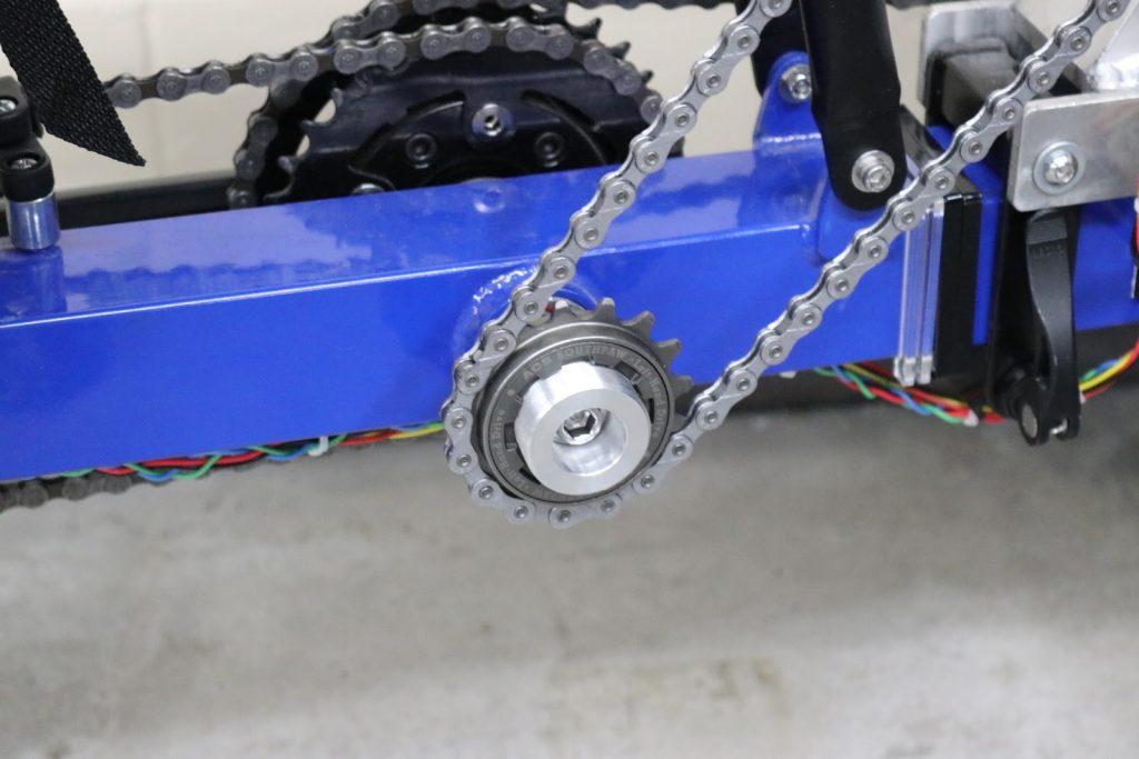 Freewheeling mechanism