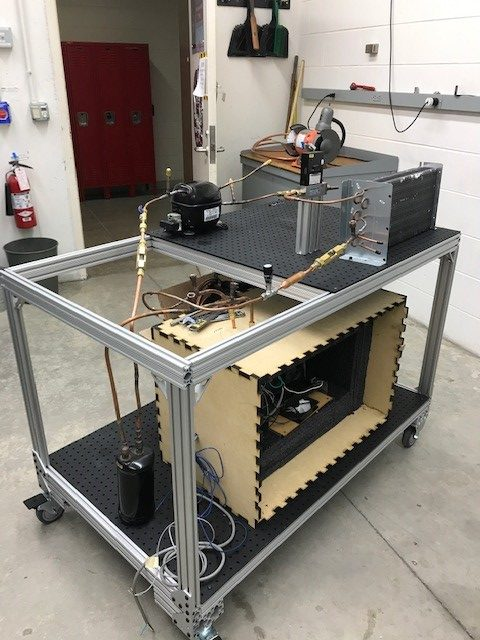 Refrigeration testing cart 1
